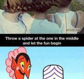 Evil idea…