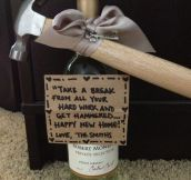 House welcoming gift…