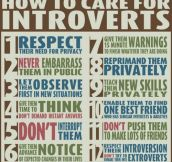 How to take care for introverts…