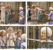 Best moment from Golden Girls…