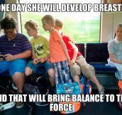 That will bring balance…