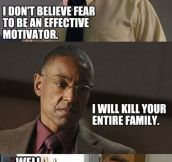 Breaking bad logic…