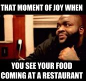 That moment of joy…