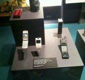 Ancient phones…