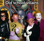 Old villains…