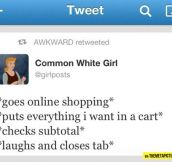 Shopping online…