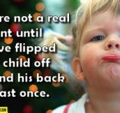 What makes a real parent…