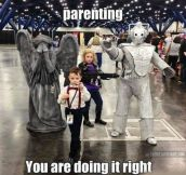 Whovians make great parents…