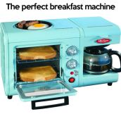 Perfect breakfast machine…