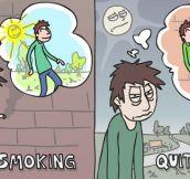 Every smoker's problem…