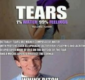The truth about tears…
