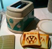 VW Toaster…