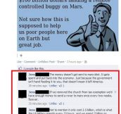 So, NASA is the bad guy?