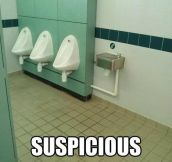 That's very suspicious…