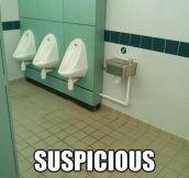 That's very suspicious…