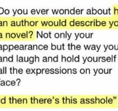 I'd be the author
