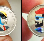 Coin Paintings by Andre Levy (27 Pics)