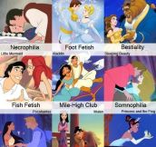 All The Disney Princes Have Some Weird Fetishes…