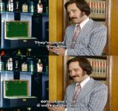 Anchorman love?