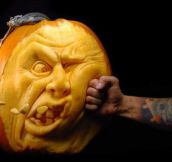 16 Artistically Amazing Pumpkin Carvings That Will Make You Go WOW