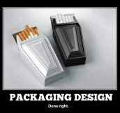 CIGARETTE PACKAGING DESIGN