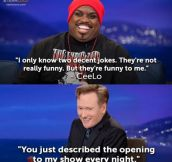 Ceelo on Conan