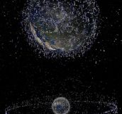 EVERY SINGLE SATELLITE ORBITING THE EARTH