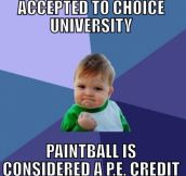 Education through pain