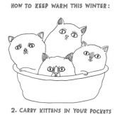 HOW TO KEEP WARM THIS WINTER.