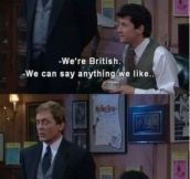 How Americans view the English