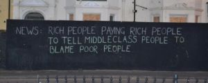 I knew global warming was because of poor people!