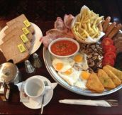 Just a typical Irish breakfast