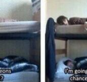 Me at sleepovers