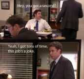 Remember when Will Ferrell was on the office