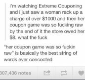 So Extreme Couponing is a thing…?