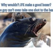Super Offended Seal