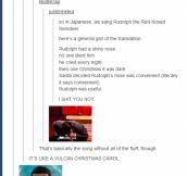 Vulcan Christmas Carol