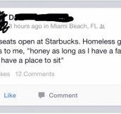 When the Homeless Harass
