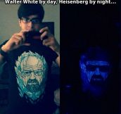 Walter White by day…