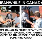 Good Guy Canadian police…