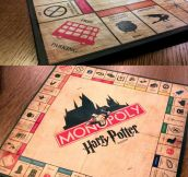 Amazing Harry Potter Monopoly…