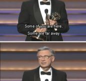 Thank you for accepting me into your neighborhood, Mr. Rogers…