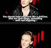 Tom Hiddleston, everybody…