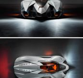 The amazing Lamborghini Egoista…