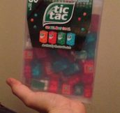The mother of all Tic Tacs…