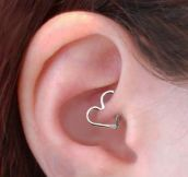 Cartilage earring…