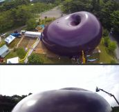 World's first inflatable concert hall…