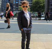 Stay classy kid…