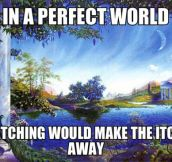 If the world was perfect…