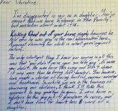 Grandfather writes letter to his daughter after she kicks out his gay grandson…